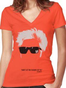 Jim Jarmusch Hair Women's Fitted V-Neck T-Shirt