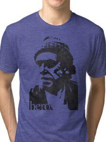 Hero - Charles Bukowski Tri-blend T-Shirt