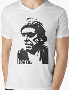 Hero - Charles Bukowski Mens V-Neck T-Shirt