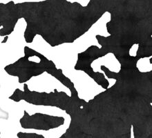 Hero - Charles Bukowski Sticker