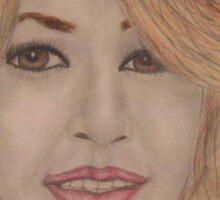 Beautiful Blonde Woman Sticker
