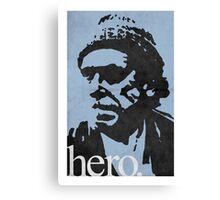 Hero - Charles Bukowski Canvas Print