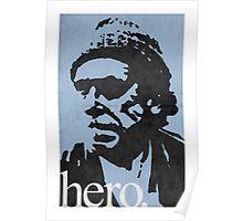 Hero - Charles Bukowski Poster