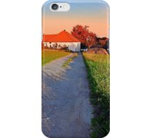Early summer morning hiking trip | landscape photography iPhone Case/Skin