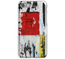 Red and Yellow iPhone Case/Skin