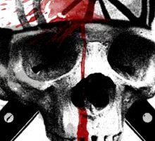 Death to LaRusso Sticker