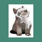 little cat by paula cattermole artinapuddle
