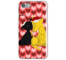 Kitten Scratches and Puppy Nuzzles iPhone Case/Skin