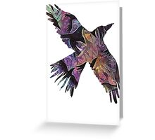 Crow of Crows Greeting Card