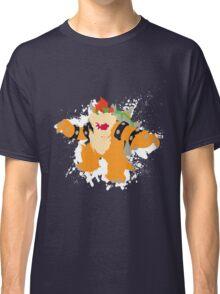 Bowser splattery vector T Classic T-Shirt