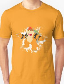 Bowser splattery vector T Unisex T-Shirt