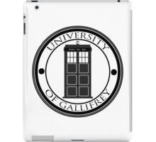 University of Gallifrey iPad Case/Skin