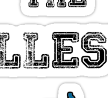 Pun's the illest Sticker