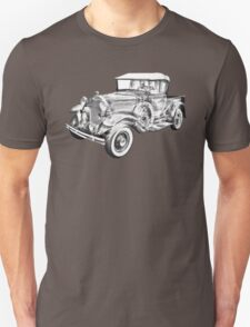 1930 Ford Model A Pickup Truck Illustration T-Shirt