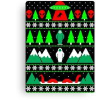 Paranormal Christmas Canvas Print