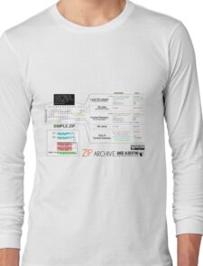 a mini ZIP Long Sleeve T-Shirt