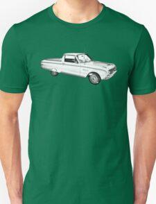 1962 Ford Falcon Pickup Truck Illustration T-Shirt