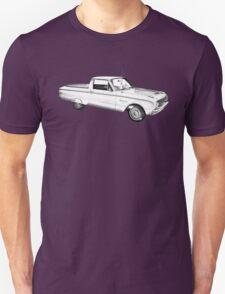 1962 Ford Falcon Pickup Truck Illustration Unisex T-Shirt