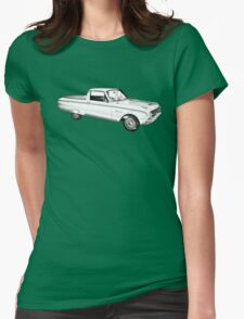 1962 Ford Falcon Pickup Truck Illustration T-Shirt