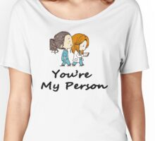 Christina Yang - You are my person Women's Relaxed Fit T-Shirt