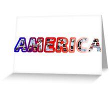 America! Greeting Card