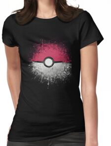 Pokemon: Gotta Catch 'Em All Pokeball Shirt  Womens Fitted T-Shirt