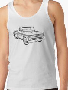1965 Chevrolet Pickup Truck Illustration Tank Top