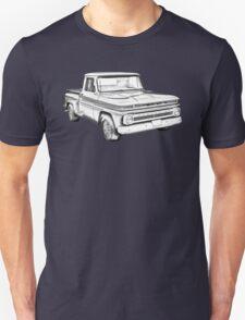 1965 Chevrolet Pickup Truck Illustration T-Shirt