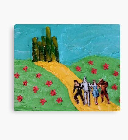 Wizard of Oz Cake Canvas Print