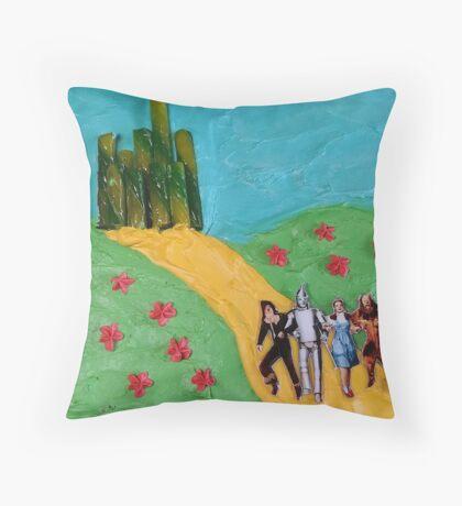 Wizard of Oz Cake Throw Pillow
