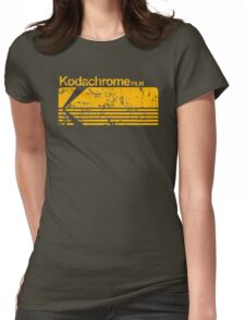 Kodachrome vintage Womens Fitted T-Shirt