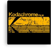 Kodachrome vintage Canvas Print