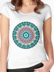 Tribal Mandala G405 Women's Fitted Scoop T-Shirt