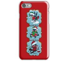 Christmas cookies. Bullfinches iPhone Case/Skin