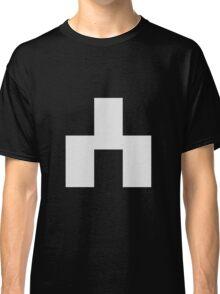 White Bear Symbol - Black Mirror Classic T-Shirt