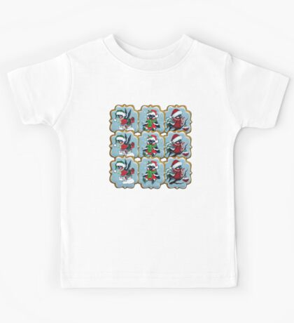 Christmas cookies. Bullfinches Kids Tee