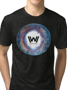 west world Tri-blend T-Shirt