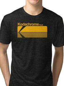 Kodachrome film Tri-blend T-Shirt