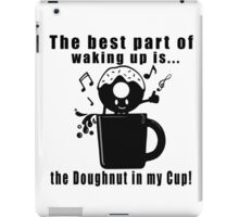 Funny, Unique and Cute Coffee Lovers Cool T-Shirt iPad Case/Skin