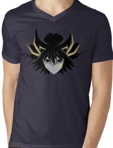 Signer Fudo - Yu-Gi-OH 5DS T-Shirt Mens V-Neck T-Shirt