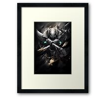 Azir - League of Legends - the Emperor of the Sands Framed Print