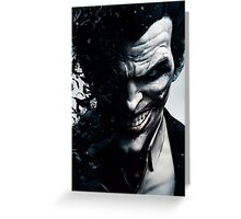 The Joker Greeting Card