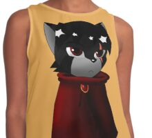 Chibi Cloaked Wolf Contrast Tank