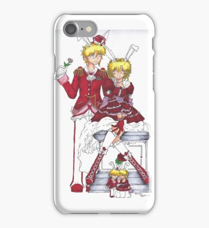King and Queen of Hearts iPhone Case/Skin