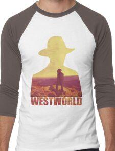 west world Men's Baseball ¾ T-Shirt