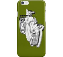 1950 Chevrolet Flat Bed Pickup Truck Illustration iPhone Case/Skin