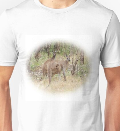 Kangaroos in the Park Unisex T-Shirt