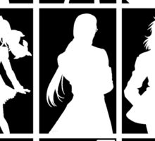 Tales of Xillia 2 - Character Roster (Black) Sticker