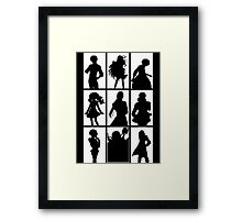 Tales of Xillia 2 - Character Roster (White) Framed Print