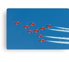 Red Arrows - Eagle Roll Canvas Print